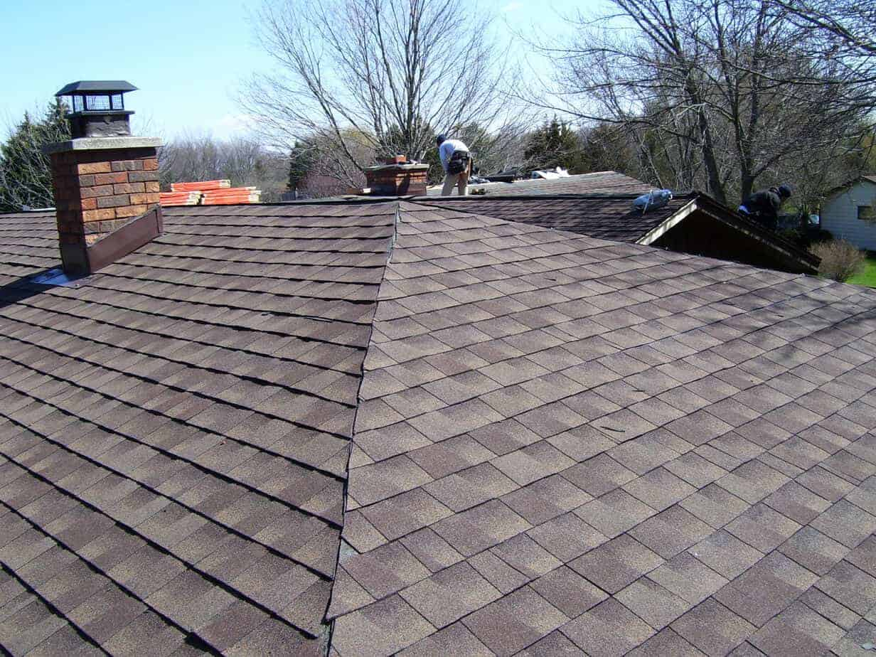 Cartoon Roofing Installation : Roofing installers correct installation of the roof sc