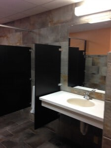 commercial bathroom remodel by paradise builders