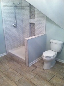 Talk to us about your design needs and concerns, and we will work with you  to design a beautiful, senior friendly bathroom in your home.